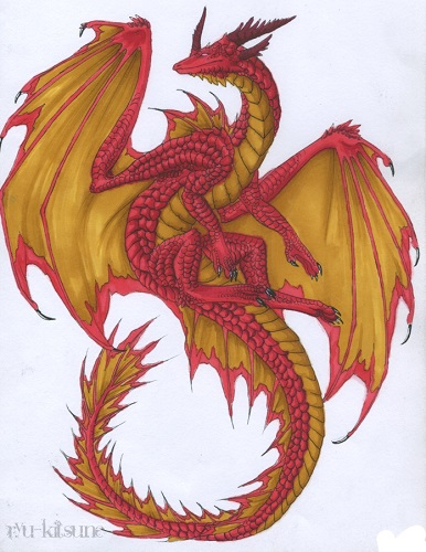Red_and_Gold_Dragon_by_thecoffeedragon